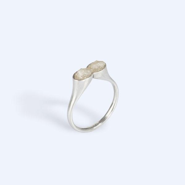 Adéla Schicker | prsten křištál 2