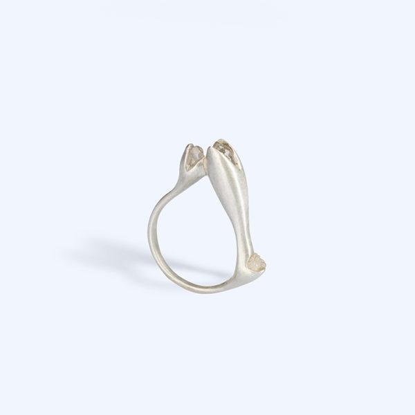 Adéla Schicker | prsten kristal